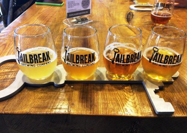 Jailbreak Brewing Company sampler2