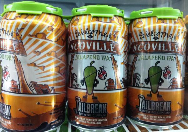 Jailbreak Brewing Company six pack