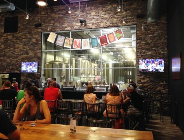 Jailbreak Brewing Company tasting room