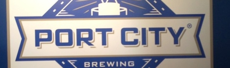 Port City Brewing Company Inside Sign