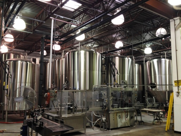 Port City Brewing Company tanks