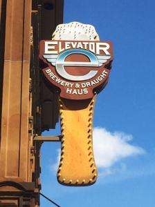 Elevator Brewery Sign