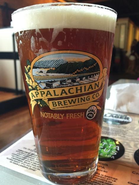 Appalachian Brewing Company pint