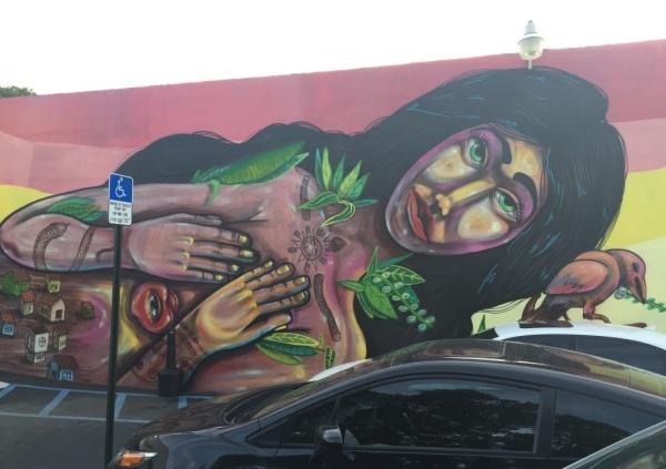 J Wakefield Brewing Mural