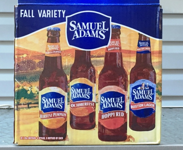 Sam Adams Fall Variety Pack