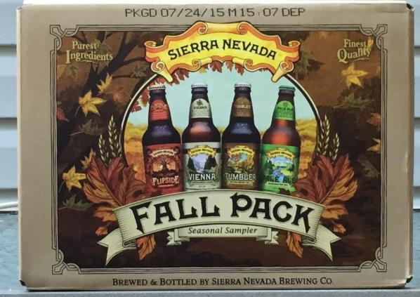 Sierra Nevada Fall Pack Seasonal Sampler