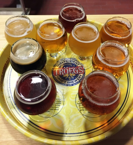 Troegs Sampler Tray