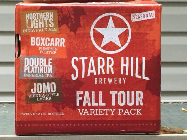 Starr Hill Brewery Fall Tour Variety Pack