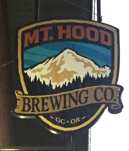 Mt Hood Brewing Company sign