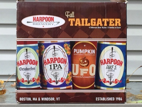 Harpoon Brewery Fall Tailgater