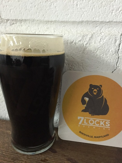 7 Locks Brewing Coffee Stout