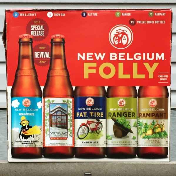 New Belgium Folly Winter Pack 2015
