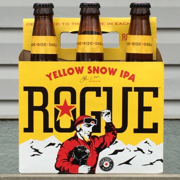 Rogue Yellow Snow IPA six pack