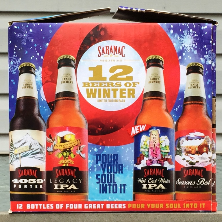Saranac 12 Beers of Winter 2015