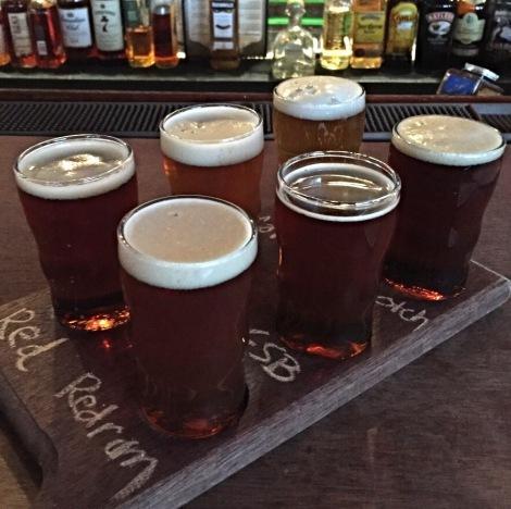 Trinty Brewhouse sampler