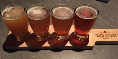 2nd Story Brewing Company sampler
