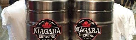 Niagara Brewing Company kegs
