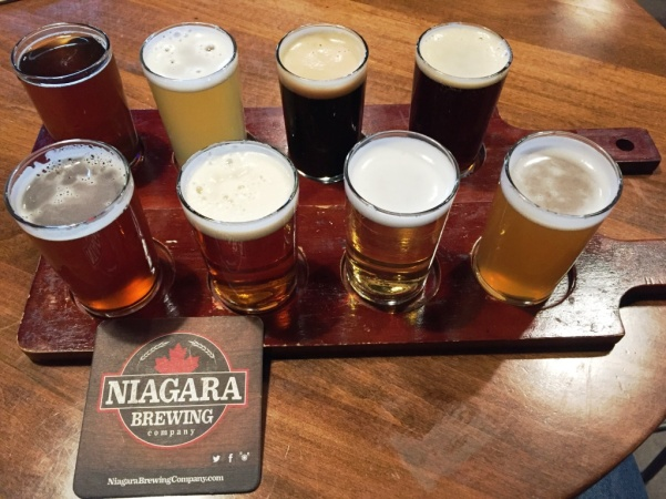 Niagara Brewing Company sampler