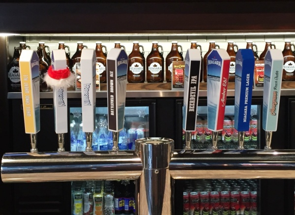 Niagara Brewing Company taps