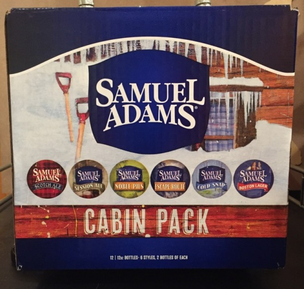 Sam Adams Cabin Pack