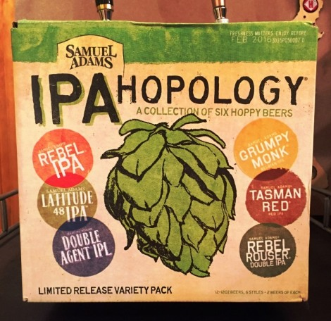 Sam Adams IPA Hopology