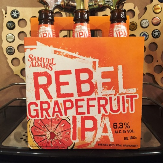 Sam Adams Rebel Grapefruit IPA