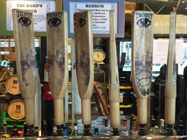 Trinty Brewhouse taps