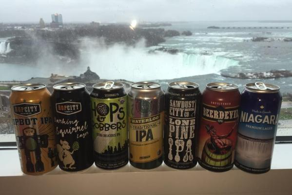 Niagara Falls Tall Boy Cans