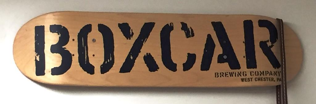 Boxcar Brewing Company Sign