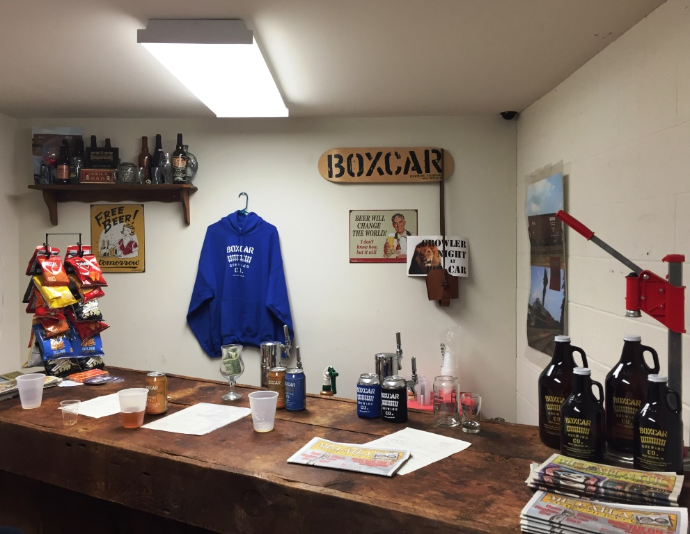 Boxcar Brewing Company Tasting Room