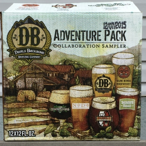 Devils Backbone Adventure Pack Collaboration Sampler