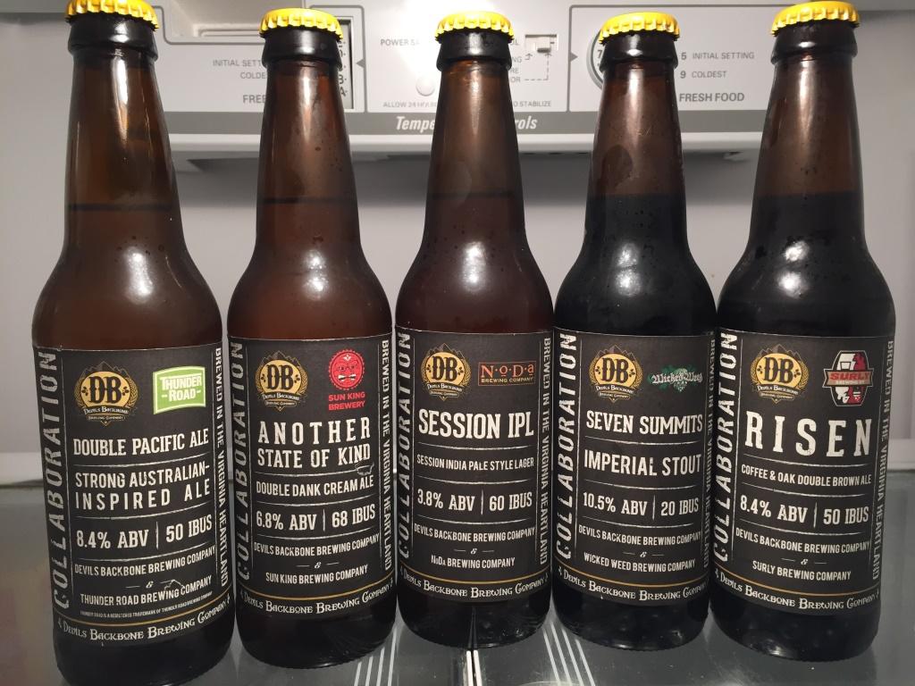 Devils Backbone Collaboration Sampler Beers