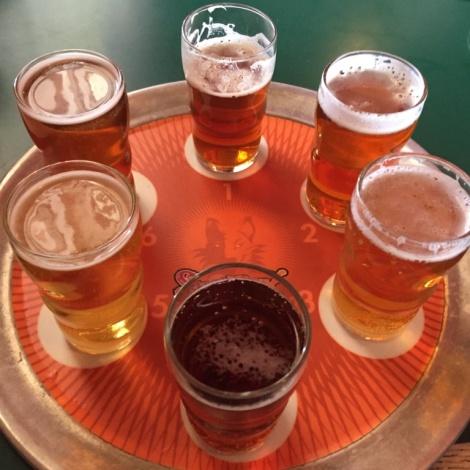 Sly Fox Brewhouse sampler