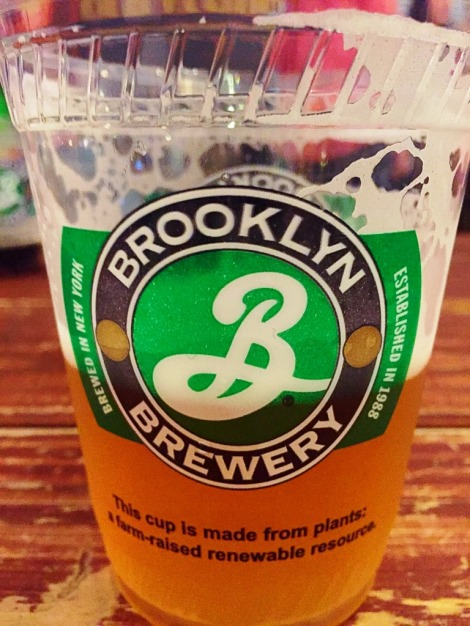 Brooklyn Brewery pint