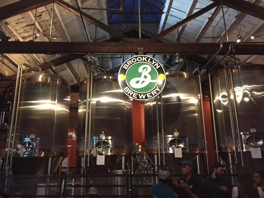 Brooklyn Brewery tanks