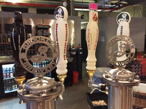 Brooklyn Brewery taps