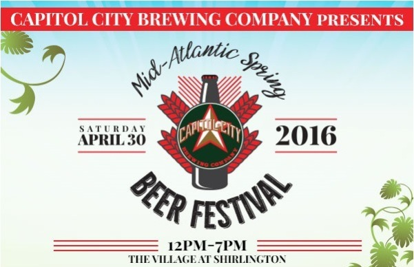 Capitol City Brewing Company Mid-Atlantic Spring Beer Festival logo