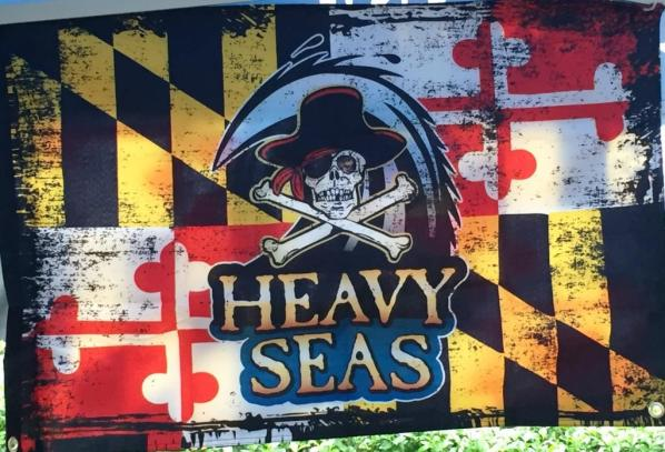 Heavy Seas Beer Flag