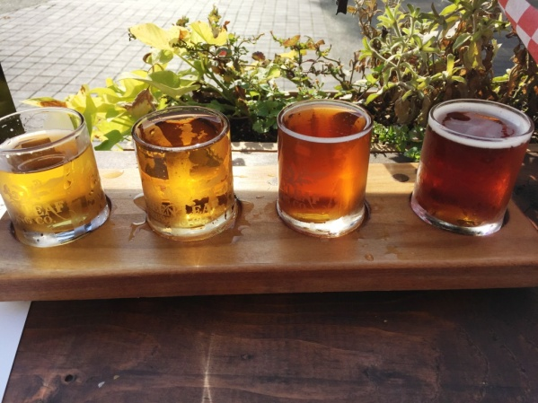 Green Leaf Brewing Company sampler