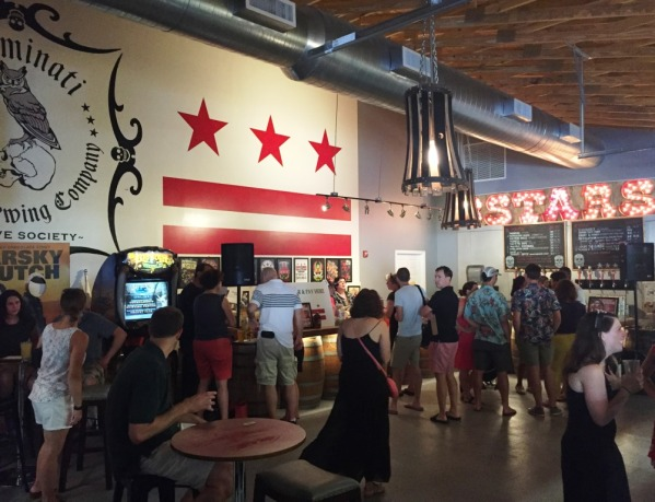 3 Stars Brewing tasting room