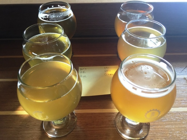 Atlas Brew Works flight