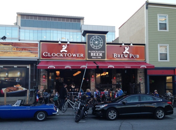 Clocktower Brew Pub front