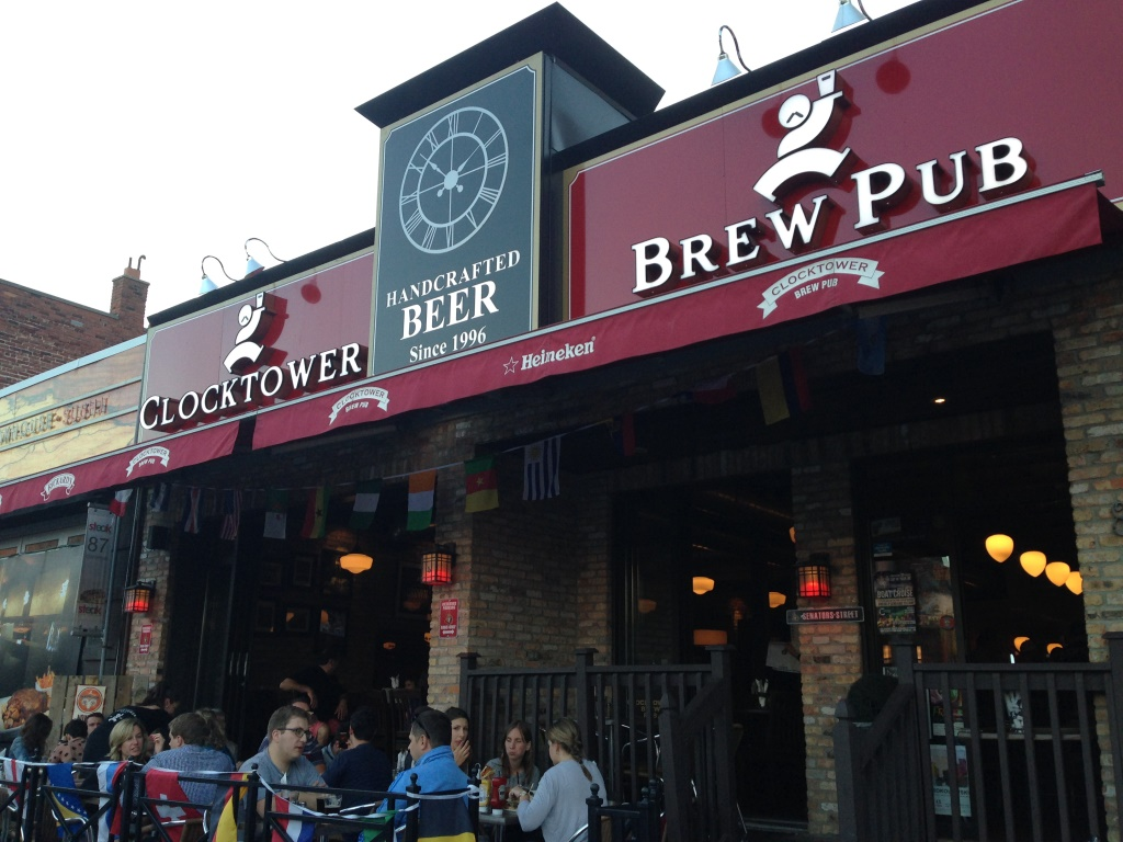 Clocktower Brew Pub front2