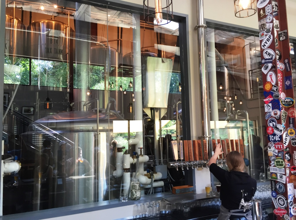 Caboose Brewing Company taps1