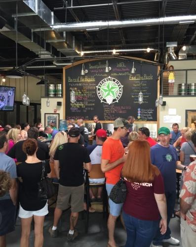 Brew Republic Bierwerks brewery crowd