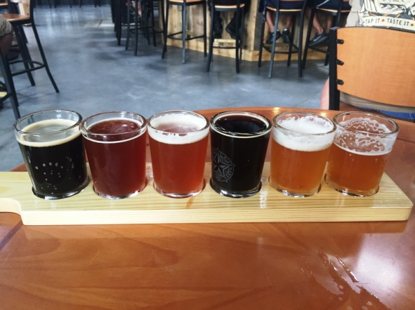 Brew Republic Bierwerks Flight