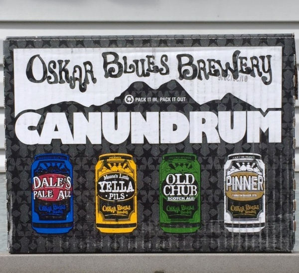 Oskar Blues Brewery Canundrum