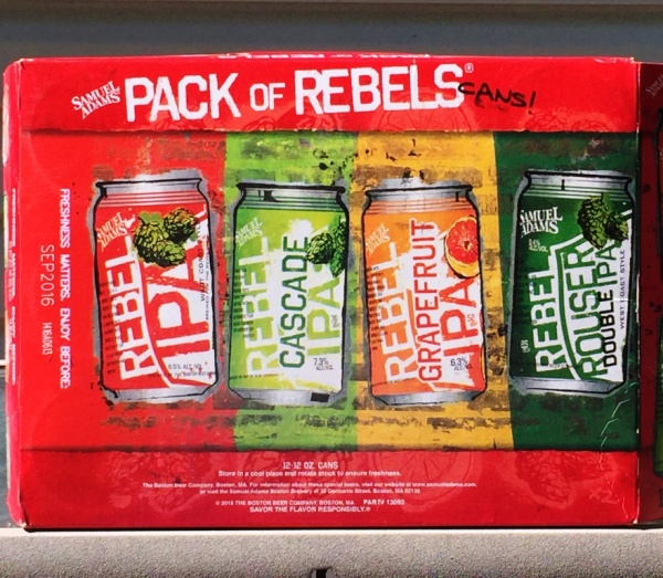 Sam Adams Pack of Rebels