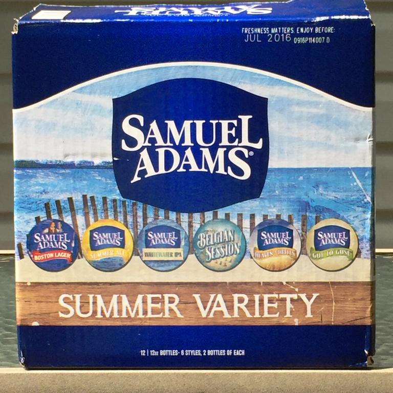 Sam Adams Summer Variety 12-PackSam Adams Summer Variety 12-Pack