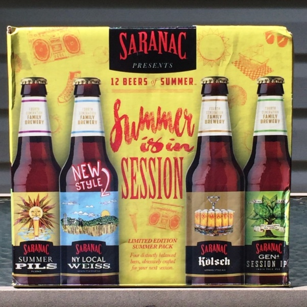 Saranac 12 Beers of Summer